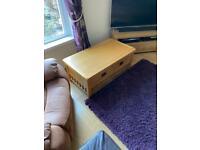 £10 Solid Oak coffee table