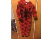 Spider-Man Onesie & dressing gown age 3-4