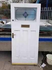 Wood external door (#569)