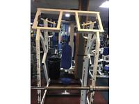 Plate loaded Iso Lateral shoulder press