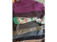 Big Maternity clothes bundle size 14-16
