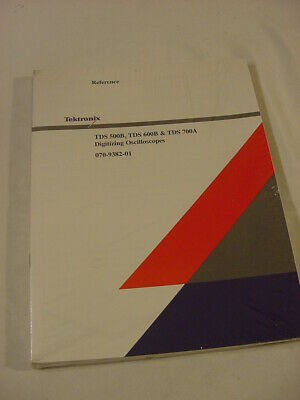 Vtg Manual - Tektronix Tds 500b 600b 700a Digitizing Oscilloscope