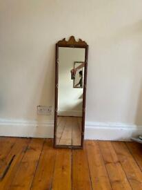 antique / vintage style wooden wall mirror HANDMADE