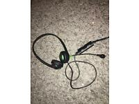 Xbox 360 wired headset/microphone