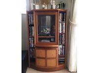 Nathan Teak Hifi Cabinet and storage unit