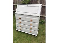 Up Cycled Vintage Ducal Pine Bureau/Writing Desk (Can Deliver)