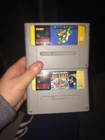 2 mario SNES Nintendo games