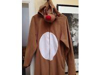 Reindeer Onesie - Adult Size