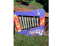 Garden Music Plastic Playpanel