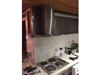 Kitchen hob hood