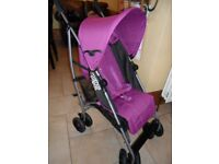 mamas & papas buggy stroller swirl with rain cover foot muff and umbrella