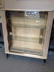 Retro glass/ drinks cabinet. Sideboard. Upcycle project