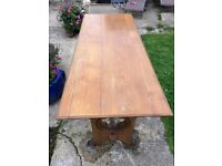 Solid Oak Dining Table Available Now in Horsham!