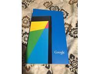 Brand New Google Nexus Tablet and Keyboard