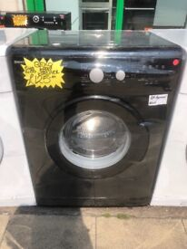 BEKO 6KG BASIC USE WASHING MACHINE IN BLACK