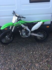 Motorcross bike - Kx 250f *not Honda, ktm, Yamaha*