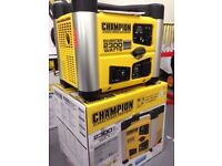 NEW CHAMPION 2300 WATT INVERTER PORTABLE GENERATORS ,BALLYNAHINCH, TOP SELLING IN CARAVAN/CAMPING