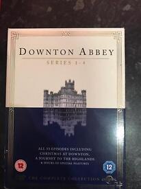 Downtown abbey DVD box set series 1-4