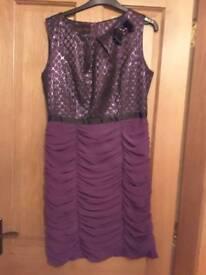 Daisy may purple dress size 12