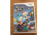 Nintendo Wii - Phineas and Ferb