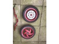 Gilera runner piaggio typhoon 125 sp disk wheels