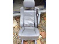 Vito rear leather seat