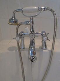 Mixer tap with shower head