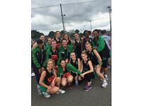 WE NEED A GD, GK AND C PLAYER FOR 4 of our netball teams