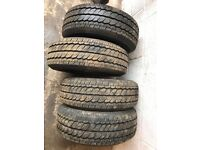 X4 Durabldemax tyres