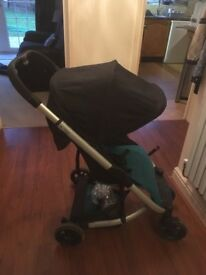 Mamas & Papas Argo pushchair / Pram / stroller teal
