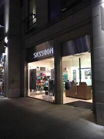 Free haircut at the Vidal Sassoon salon Edinburgh