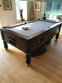 7x4 Slate Bed Pub Pool Table