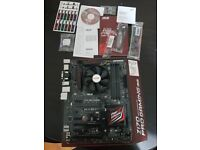 ASUS Z170 PRO GAMING MAINBOARD,INTEL SKYLAKE CORE i7 6700K 4.0 GHZ CPU BUNDLE