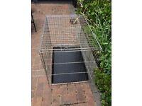 Folding metal dog / pet cage