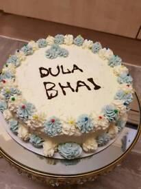 Fresh home made cake