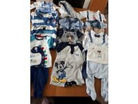 Baby boys clothes 0 to 3 months