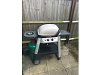 Outback excel 300. Gas barbecue. And cover Used. Much loved.
