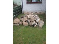 Random Rubble stone for sale