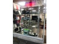 Glass cabinet showcase