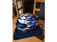 AGV Stealth Saltire Crash Helmet