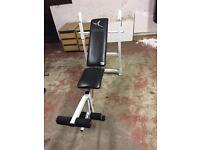 Domyos weight training bench