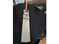 MB MALIK Sher Amin Cricket Bat 6 Grains 37 mm Edge 2.6 Weight. MONSTOR EDGES