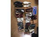 Large selection of shoes/trainers/boots - designer size 7 and 8 - vans converse adidas