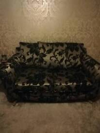 2 Seater sofa and love chair