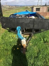 Large Trailer in Good Condition Reduced for quick sale