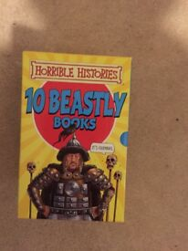 Horrible Histories boxset