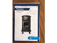 Provence - Flueless Gas Stove (with gas bottle)