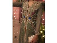 Formal Anarkali Salwar Kameez Size 10 Brand New