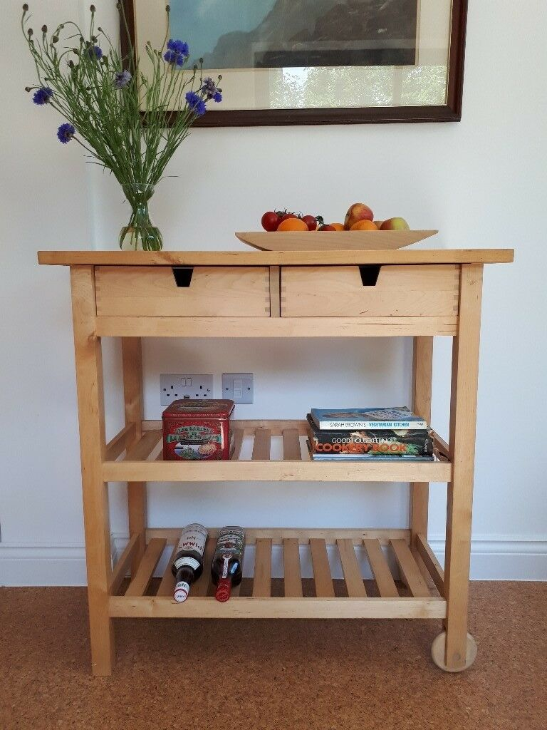 Ikea Kitchen Island Bench Trolley Forhoja In Highgate London