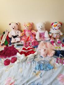 4x buildabears and clothes